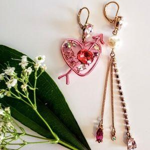 BETSEY JOHNSON  Valentine's day earrings